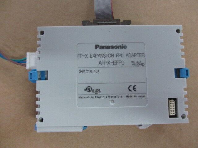 1 pcs Panasonic PLC Adapter AFPX-EFP0 tested