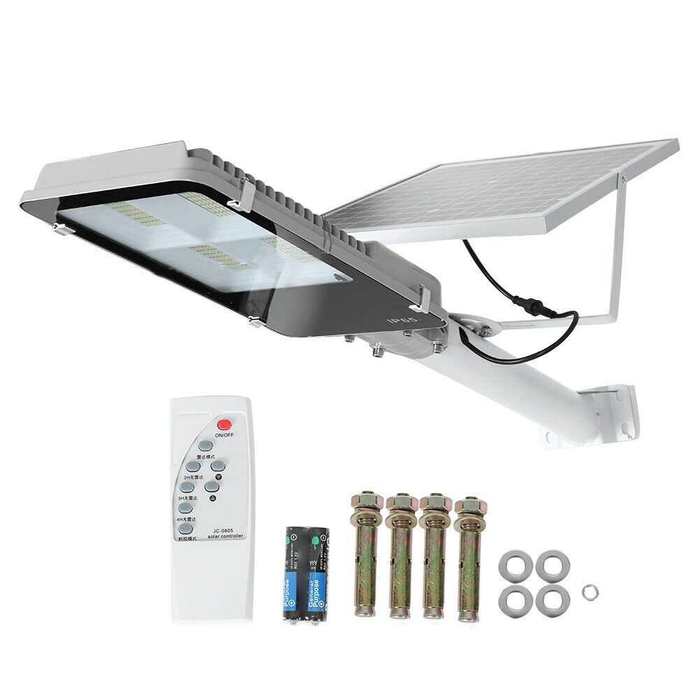 192led 300w solar regulable Wall Street Light radar inducción outdoor-jardín lámpara