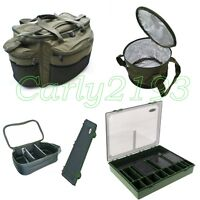 Carp Luggage Set - Large Carryall - Rig Wallet - Lead Bag - Tackle Box - Fishing