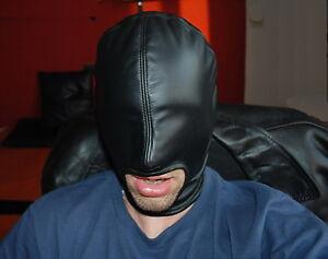 ledermaske maske dickes leder mask leather gay muscle zum lederhose jock hemd ebay. Black Bedroom Furniture Sets. Home Design Ideas