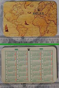 Calendario Anno 1992.Calendar Calendario Anno 1992 1993 Originale Rolex