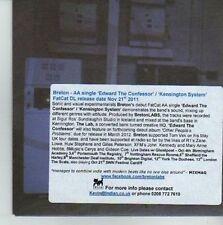 (CW66) Breton, Edward The Confessor - 2011 DJ CD