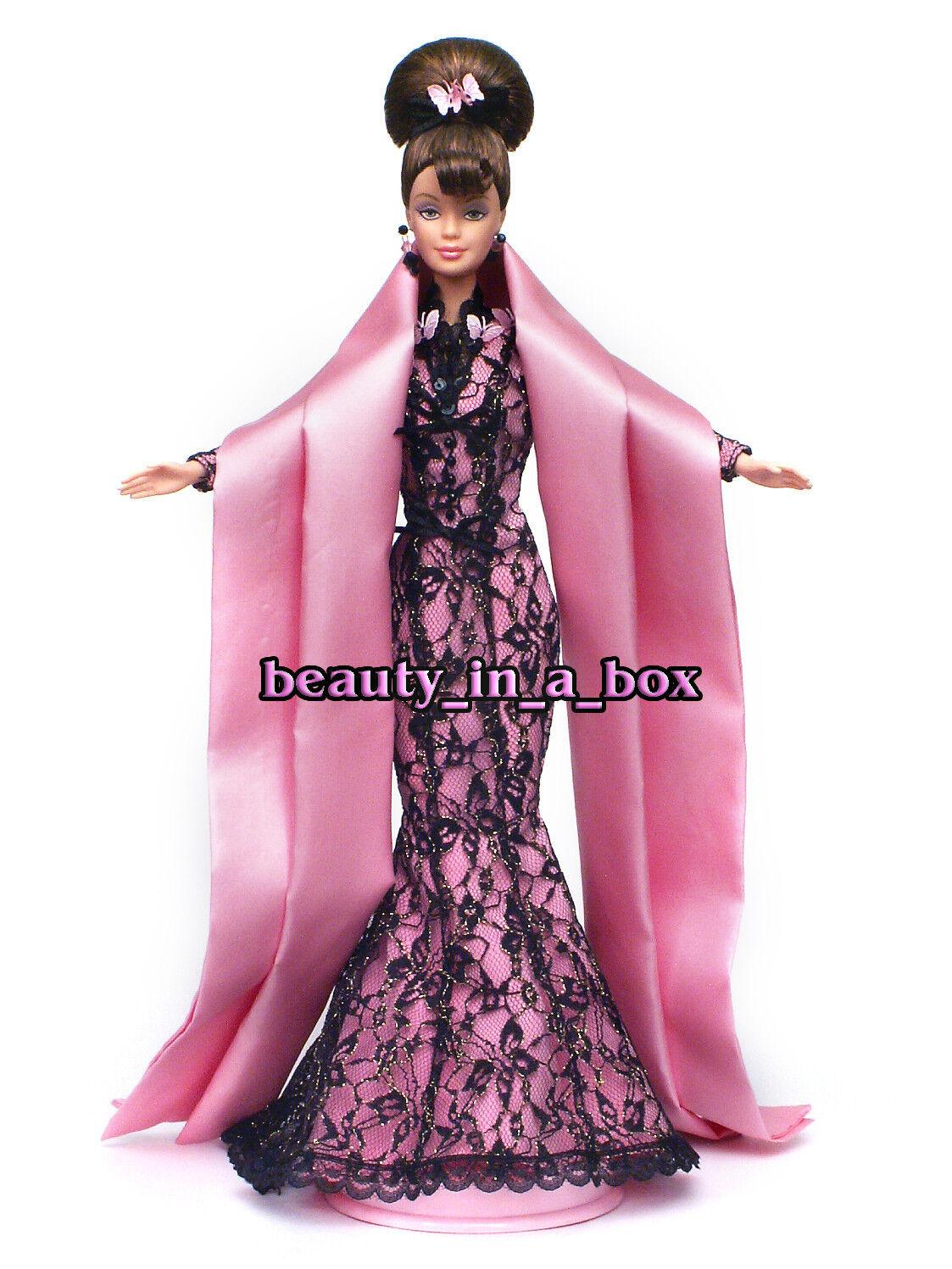 Hanae Mori diseñador suelto deboxed muestra Muñeca Barbie Sin Caja