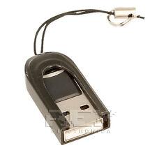 Adaptador Lector Tarjeta MICRO SD a USB Portátil, Color NEGRO ¡Desde España! v35