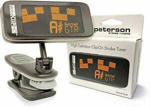 Peterson StroboClip HD High Definition Clip-on Tuner for ALL String Instruments!