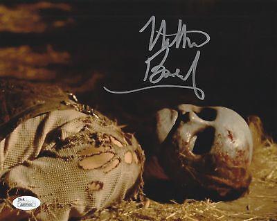 Nathan Baesel Autograph 8x10 Photo Leslie Vernon Signed JSA COA 1