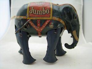 Blomer & Schüler, éléphant en fer blanc Anni 40