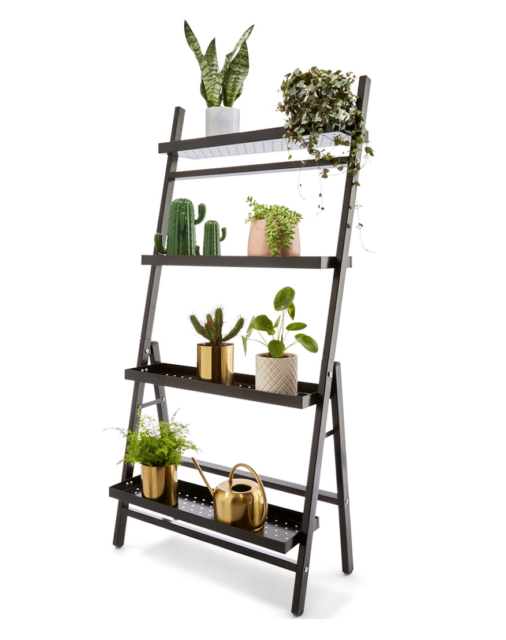 low priced 6bbbd 98972 Set of 2 - Metal Plant Stand Tiered Garden Ladder Shelf 1-12 Pots Home  Greenery