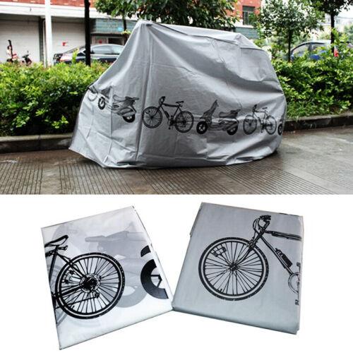 Bicycle MTB Bike Cover Waterproof UV Weather Rust Rain Resistant Garage UK