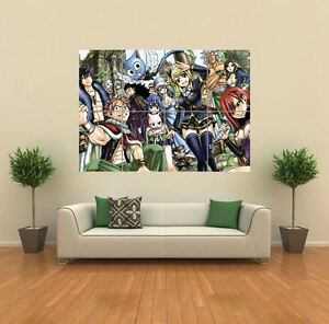 FAIRY-TAIL-ANIME-MANGA-NEW-GIANT-POSTER-WALL-ART-PRINT-PICTURE-G1117