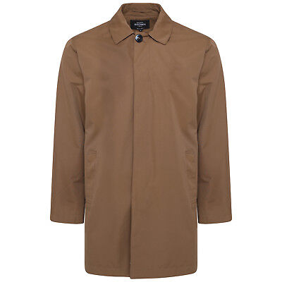 Harry Brown Single Breasted Trench Coat in Mud S to 3XL 54119//0331