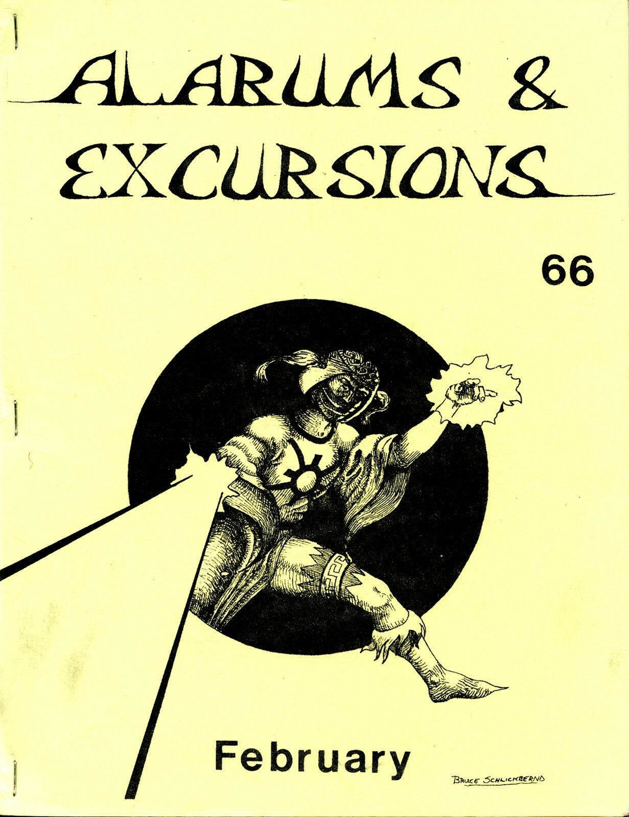 ALARUMS AND EXCURSIONS FEBRUARY  66 FANTASY RPG EXC