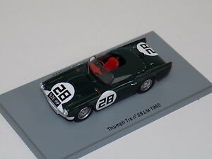 1-43-Spark-Triumph-TRS-car-28-1960-24-Hours-of-LeMans-S0501