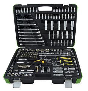 Estuche de herramientas 216 piezas JBM crique cierre Metálico Maletín llaves