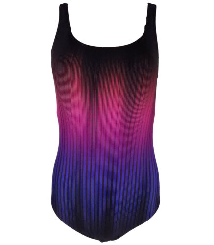 Brand New Ex M/&S Tummy Control Secret Slimming Printed Swimsuit Sizes 8-22