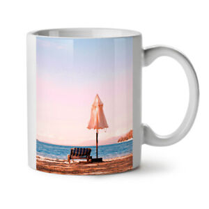 Landscape Sea Sun NEW White Tea Coffee Mug 11 oz | Wellcoda