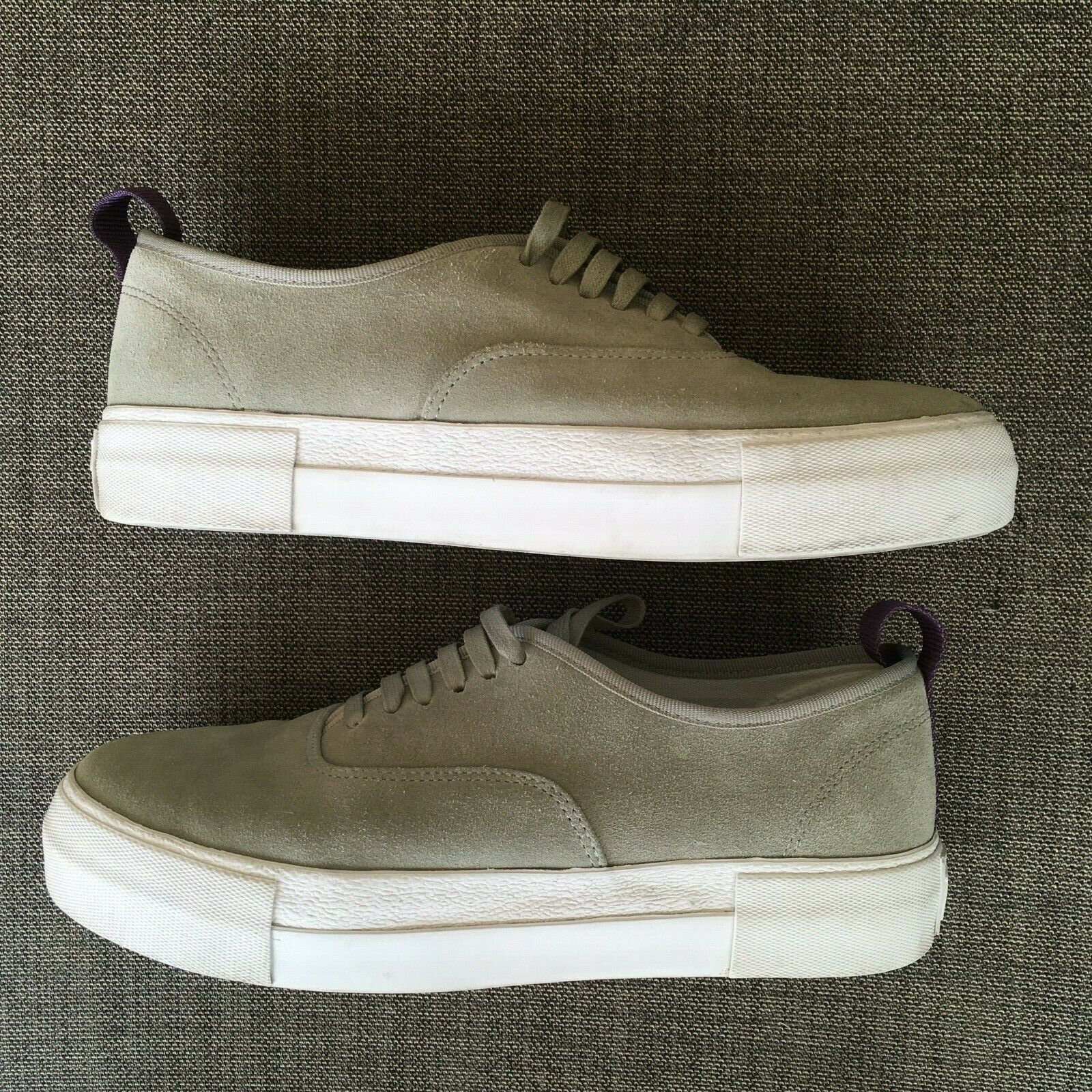 EYtys Mens Suede Skateboard Style Sneakers Gray S… - image 11