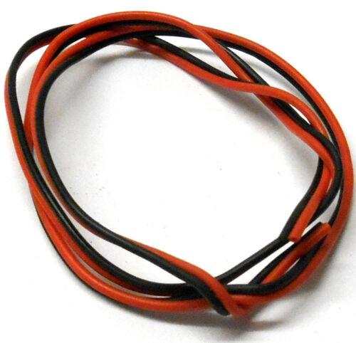 Compatible JST RC Batterie Wire Extension PVC Fil Plat 1 m 26 AWG 1 m