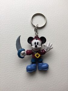 Party Favor! Disney Mickey Mouse Minnie Key Ring Keychain Lot of 8 characters+