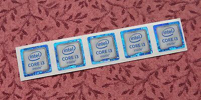 Intel Core i3 Inside Sticker 18 x 18mm 2015 Version Skylake 6th Generation