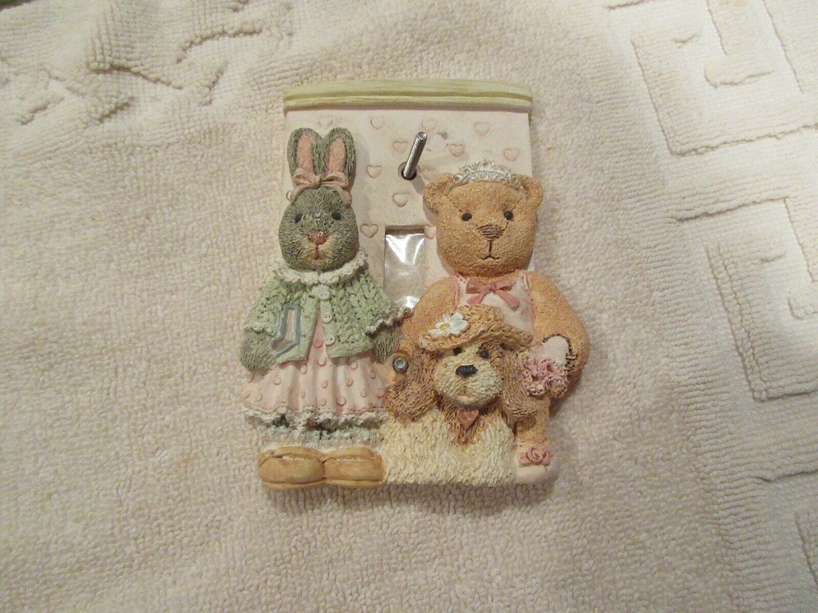 Switch Plate , Child's Room , Single Outlet , BEARS , V