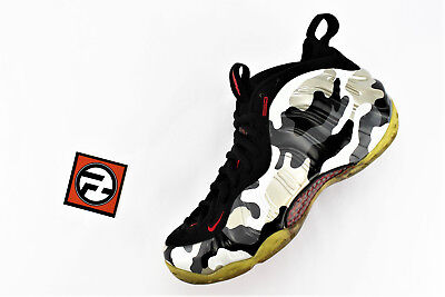 Nike Foamposite One Silver Camo on feetYouTube