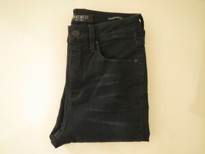 BN Jeans West Mira High Waisted Deep Blue Super Skinny Stretch ...