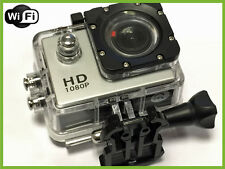 Pro HD Waterproof Sports Action Cam Camera 1080P 12MP LCD Display + WIFI
