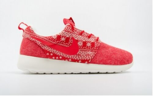 Nike 4 Red White 4 6 Uk Trainers Girls One 5 5 Womens Shoes Roshe New Winter EAPSSq