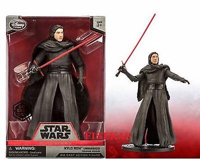 Disney Store Star Wars Force Awakens Kylo Ren Unmasked Elite Series Figure NIB