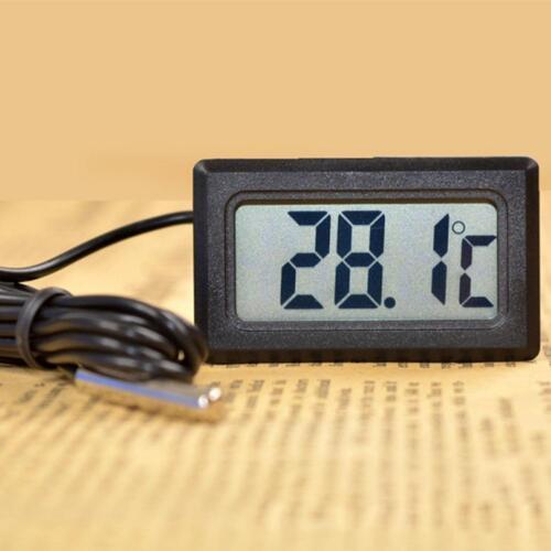 Thermometer digital LCD 50°c~110°c Temperatur Messer Termometer Aquarium HOT