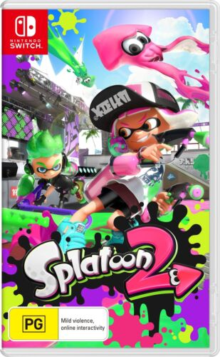 Splatoon 2 Switch Like New