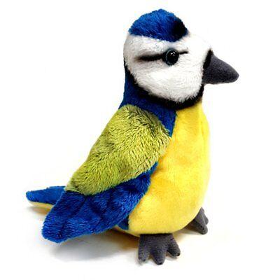 100% Vero 15cm Cinciarella Peluche Giocattolo Morbido Bird-adatto A Tutte Le Età (0+)-mostra Il Titolo Originale
