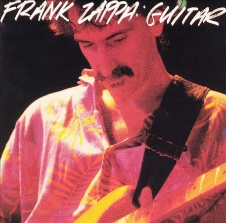2 DISC CD FRANK ZAPPA GUITAR with 32 TRACKS
