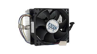 """NEW AVC Socket AM2 For AMD Aluminum Heat Sink /& 3.14/"""" Fan w//4-Pin Connector"""