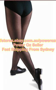 201bbab548b43 Image is loading Seamless-Footed-Fishnet-Dance-Tights-Black-and-Dark-