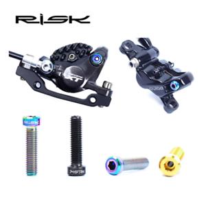 4X MTB Bike Disc Brake Fixing Bolts Screws for MTB Disc Caliper Brake Adapter