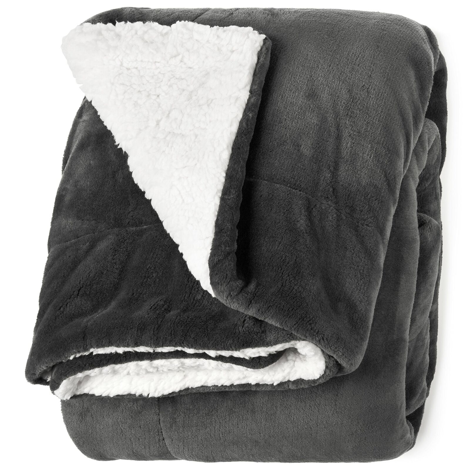 "Life Comfort Microfiber Plush Polyester 60""x70"" Large All Season Blanket for"