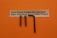 Ruger 10-22 Stainless Steel Barrel Screws