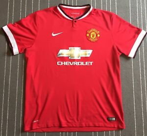 4dccf248bc0 Manchester United FC Home Shirt 2014-15  9 Radamel Falcao XL Nike ...