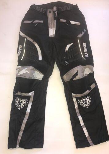 Wulfsport Alpina Camo Pants Clearance Stock Motorbike Motocross MX Leisure