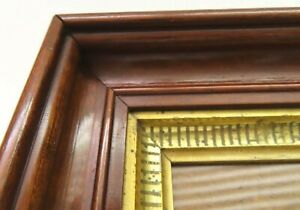 SM-DEEP-ANTIQUE-FIT-4-X-6-GOLD-GILT-PICTURE-FRAME-STENCIL-WOOD-FINE-ART-COUNTRY