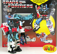TRANSFORMERS DEFENSOR G1 SERIES COMPLETE COMBINER EDITION
