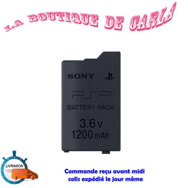 Batterie pour Sony PSP Slim & Lite - PSP 2000 2004 3004 - 1200 mah