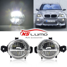2pcs Cree Led Fog Lights Car Drl For Bmw E70 E70n E81 E82 E83n E84 E87 E87n E88