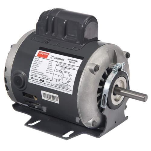 Dayton Capacitor Start Motor Model 24C178 1//4 HP 3450 RPM 60 HZ 115//230 Volt NEW