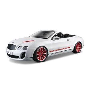 1 18 Bburago 2012 2013 Bentley Continental Supersports Is White