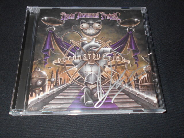 DEVIN TOWNSEND PROJECT - Deconstruction CD - 2011 signed