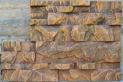 Plastic Molds for Concrete Plaster Wall Stone Cement Tiles CONCRETE MOULD  #W22 | eBay