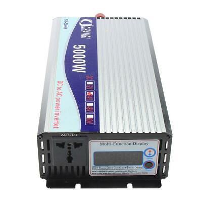 Hilfreich 10000 Watt Peak Modified Sinus Wechselrichter Dc 12-48v Zu 220v Wechselrichter Verbraucher Zuerst